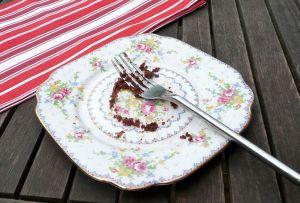 finished choc cake